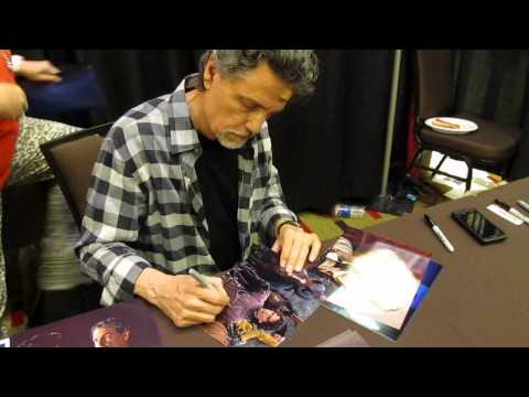 Chris Sarandon signing for Sweetly Signed.  Welcome to Fright Night!!