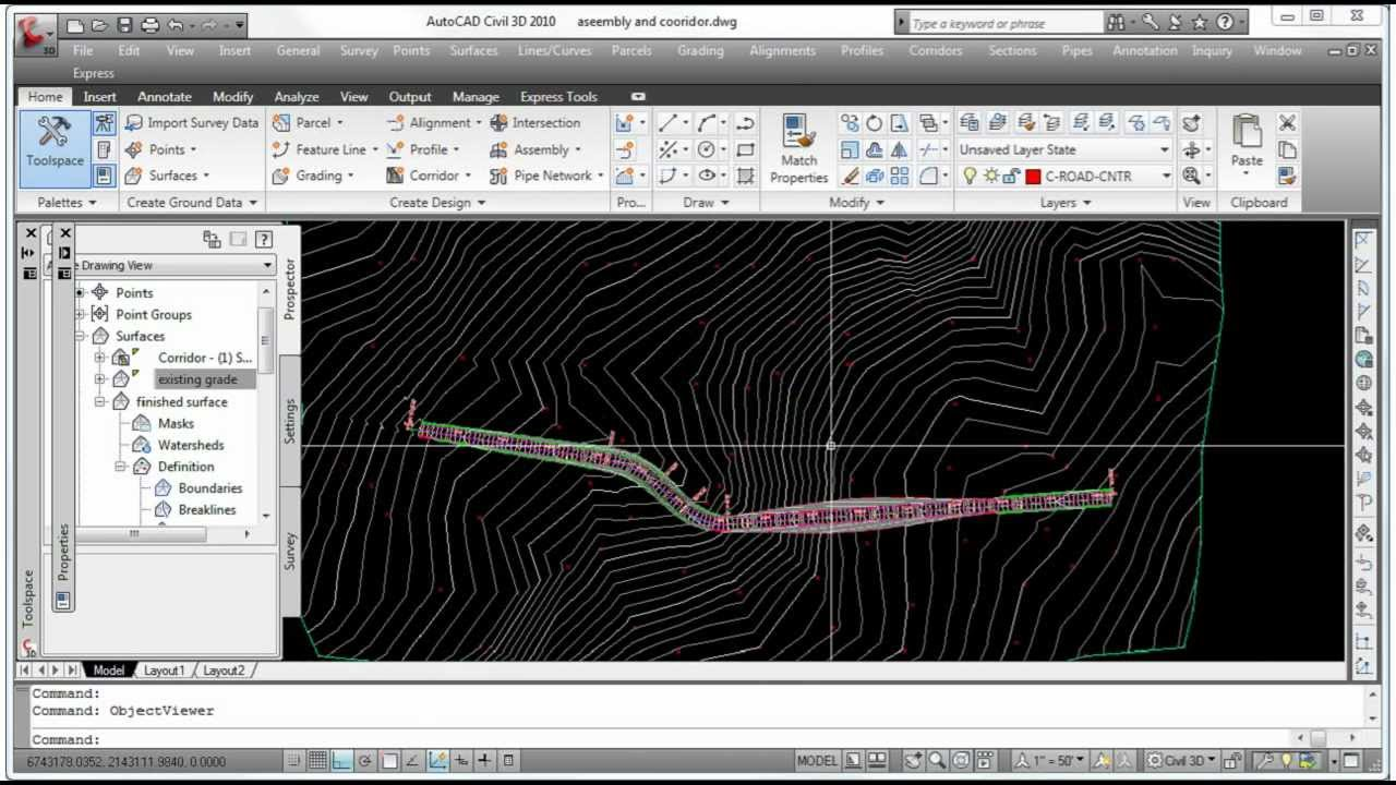 Civil 3D - Combining Surfaces