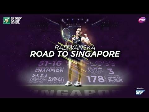 Agnieszka Radwanska's Road To Singapore