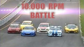 [ENG CC] 10,000 Rpm VTEC Battle - S2000, NSX, CRX, Civic, City, Altezza HV53