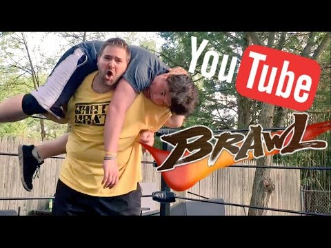 OFFICIAL YOUTUBER GRUDGE MATCH WRESTLING RING ACTION!
