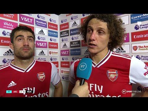 Fascinating David Luiz Interview After Arsenal Beat Manchester United