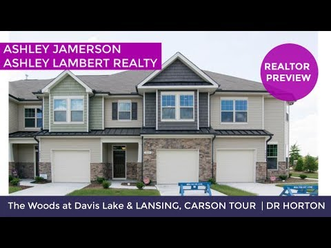 New Construction Townhomes For Sale In Charlotte, NC | The Woods At Davis Lake | #SoldByAshley