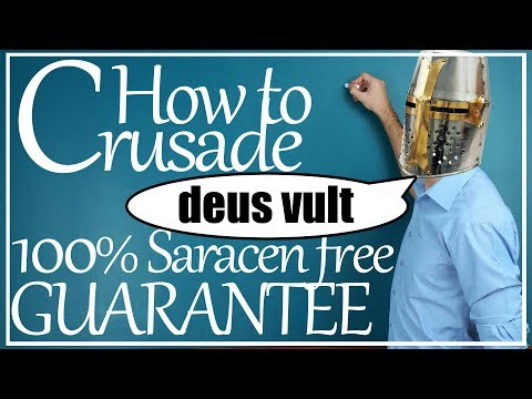 CK2 Guide: How To Crusade In Crusader Kings