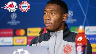 🎙️ Pressekonferenz mit David Alaba & Hansi Flick | FC Salzburg - FC Bayern