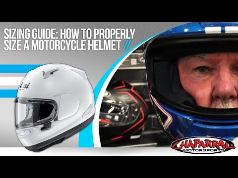 How to Properly Size a Motorcycle Helmet - ChapMoto.com Fitment Guide