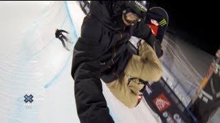 GoPro: Iouri Podladtchikov Halfpipe Course Preview – 2013 Winter X Games Tignes