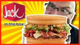 Jack in the Box Sriracha Burger Review and Drive Thru Experience