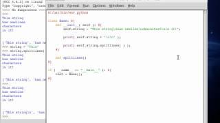 Python 66 String Split Lines