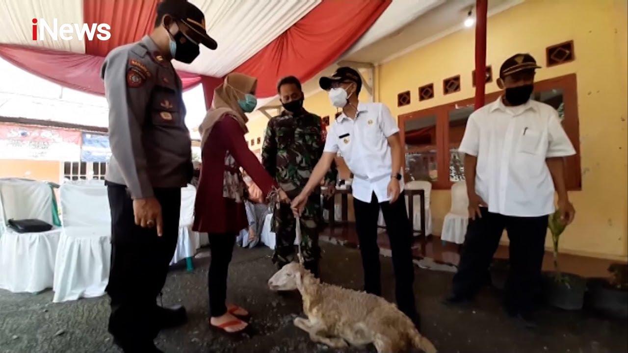 Vaksinasi di Purbalingga, Warga Dapat Doorprice Kambing dan Perabotan Part 04 #iNewsPrime 16/09