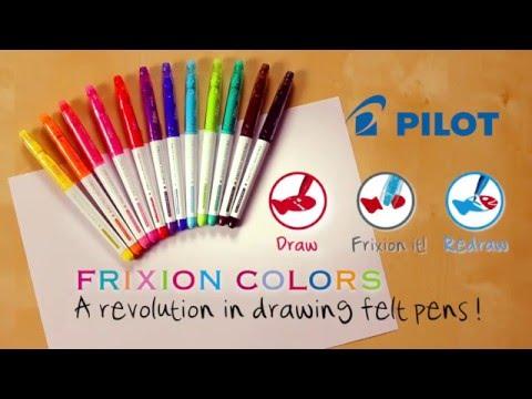 PILOT - FriXion Colors - Démonstration