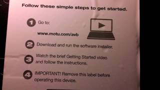 #Motu #24Ao #Recordingstudio USB digital audio interface 1st impressions