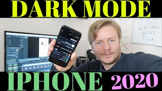 How To Enable Dark Mode On IPhone In 2020
