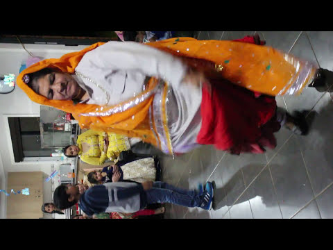 Haryanvi Folk dance by senior citizen in Melbourne 2016