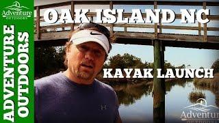 Oak Island NC Kayak Launch