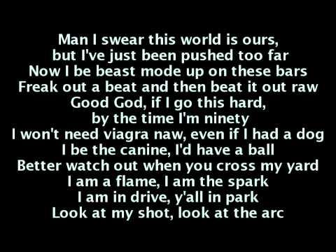 B.o.B - Bombs Away (Lyrics) Ft. Morgan Freeman