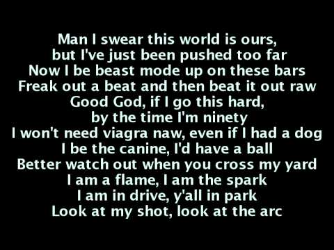B.o.B - Bombs Away (Lyrics) Ft. Morgan Freeman