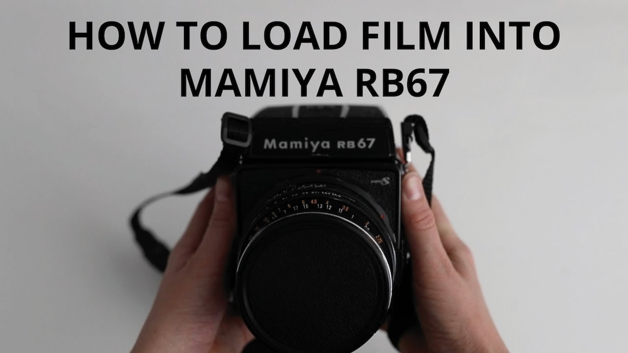 How to Load Film into Mamiya RB67