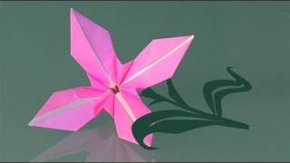 How To Make A Paper Flower, Origami