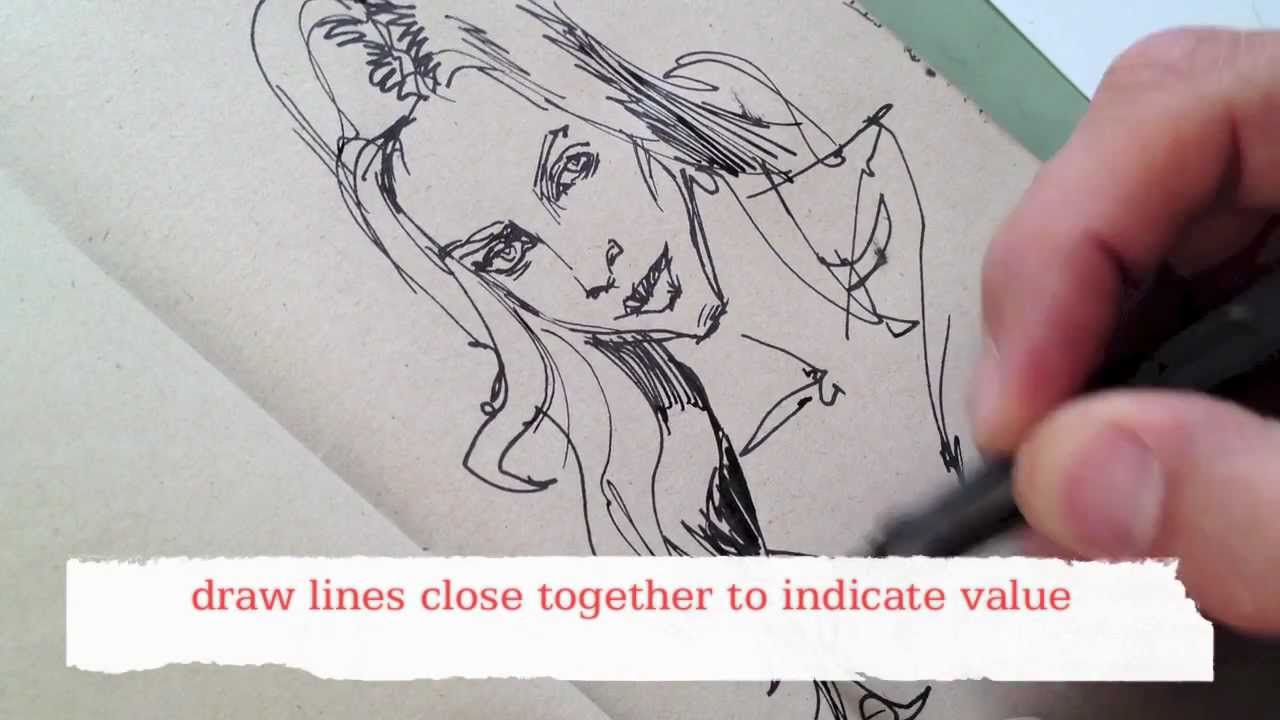 How To Draw It With A Pen