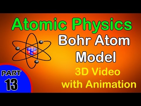 Bohr Atom Model | Atomic Physics  |class 12 physics subject notes lectures CBSE|IITJEE