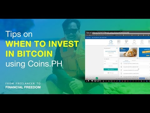 Tips on when to invest in Bitcoin using Coins.PH - With FREE Monitoring Sheet! [TAGALOG]
