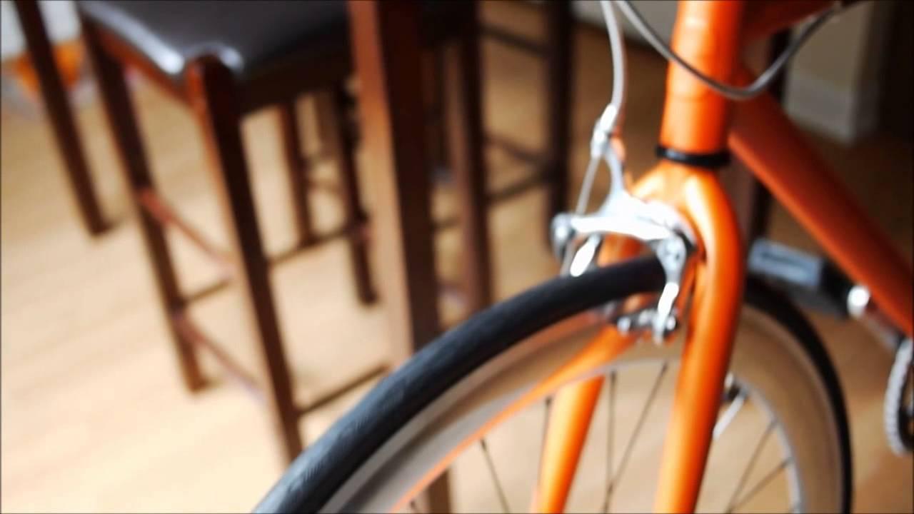 Fixie Bike Review Create Bikes Original 2013 Model Youtube