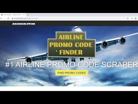 Easy To Follow Get Promo Code Airline Booking How To 2020