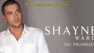 shayne ward no promises subtitulos en espaol