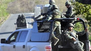 Operativo de la Armada de México 2015.
