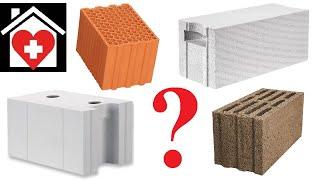 #09 Z CZEGO MUROWAĆ BUDOWAĆ? Ceramika, beton komórkowy, silikaty, czy keramzyt?