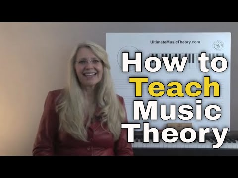 How to Teach Music Theory