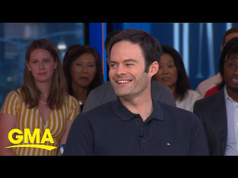 Bill Hader on the rumor he got his start in a Janet Jackson video   GMA