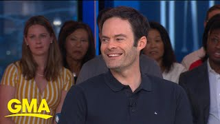Bill_Hader_on_the_rumor_he_got_his_start_in_a_Janet_Jackson_video_|_GMA
