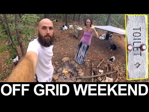 Planning OFF GRID WEEKENDS - Temporary Campsite - Preparing For A Life Without Electricity