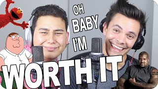"""Download Fifth Harmony - """"Worth It"""" Improv Impersonation Challenge COVER (Live One-Take) Mp3 and Videos"""