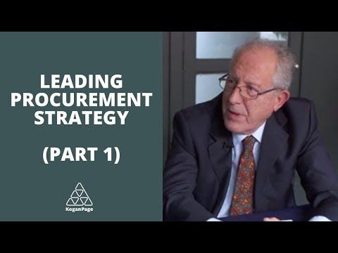 Leading Procurement Strategy   Martin Christopher