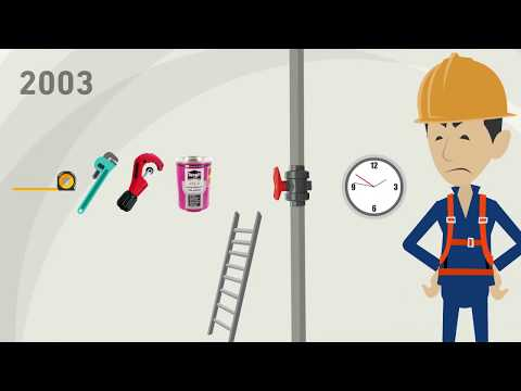 A Time Travel With The Original: Ball Valve 546 Pro – GF Piping Systems – English
