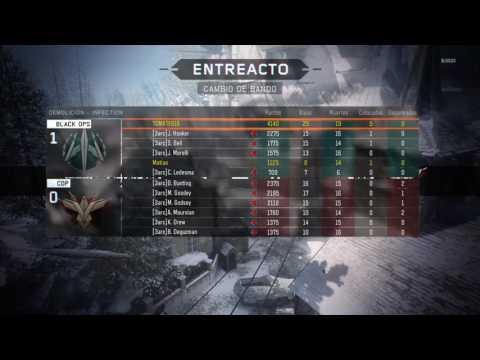 Partida de Call of Duty Black ops 3 con Juan Pa alias:noisyboss101