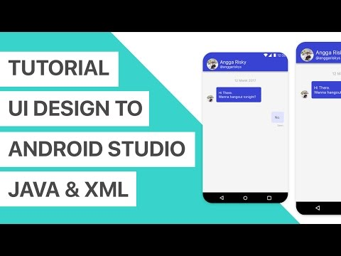 Chat App Ui Design To Android Studio Xml And Tutorial