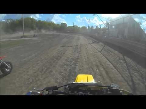 limerock speedway 3 wheeler Practice , yamaha tri z