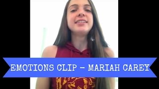 Emotions - mariah carey whistle tone clip