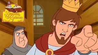 oustroupistache les deux princesses simsala grimm compilation   dessin anim des contes de grimm