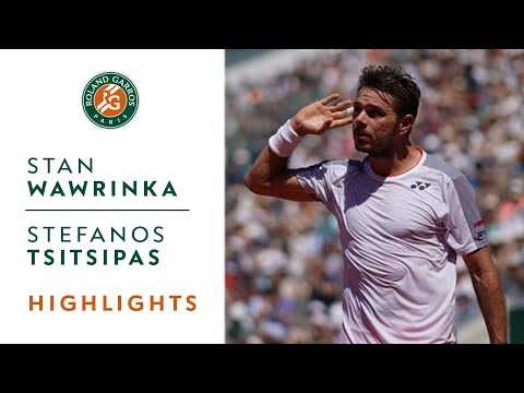 Stan Wawrinka vs Stefanos Tsitsipas - Round 4 Highlights   Roland-Garros 2019
