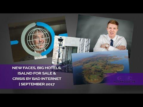 Crisis by bad Internet, Selling Islands and big Capital Hotels | Holyrood PR Agency in Edinburgh