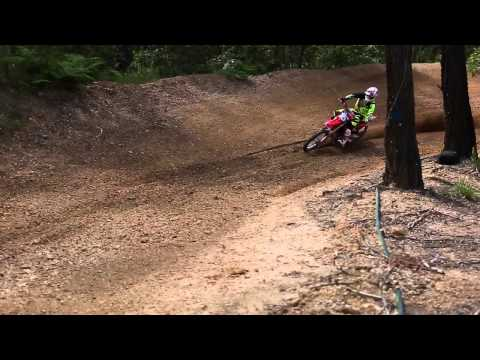 Wilson MX training at private facility.