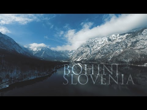 BOHINJ  LAKE SLOVENIA 4K DRONE