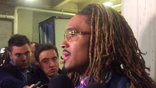 Jalen Hurts talks about the Tide's victory over Mississippi State