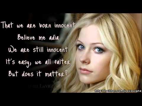 Avril Lavigne   Adia