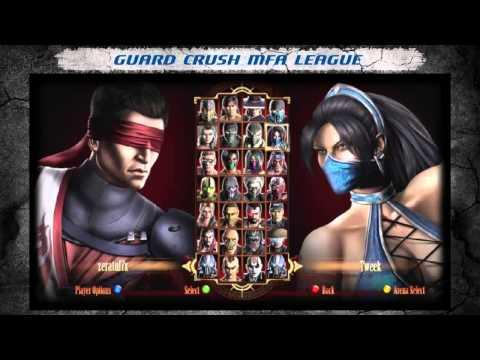 Mortal Kombat 9 Guard Crush MFA League part 10(последняя)